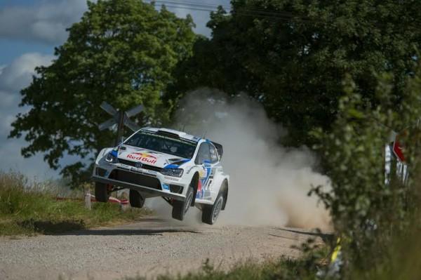 WRC 2014 POLOGNE - La POLO de Seb OGIER