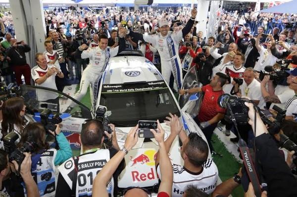 WRC 2014  POLOGNE - Sébastien Ogier Julien Ingrassia 21e victoire