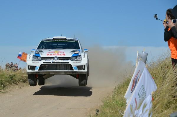 WRC 2014 POLOGNE Seb OGIER VW Polo.