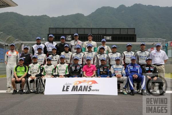 ASIAN-LE-MANS-SERIES-2014.-Presentation-des-pilotes-a-INJE-en-COREE-pour-la-manche-inaugurale-le-20-juillet.
