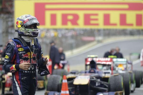 F1 2013 SAO PAULO SEB VETTEL 13eme VICTOIRE le dimanche 24 novembre en2013
