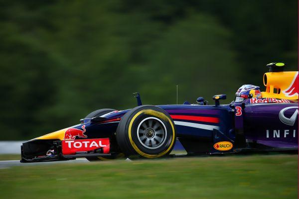 F1 2014 AUTRICHE - Daniel RICCIARDO RED BULL RENAULT.