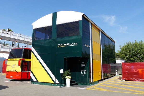 F1 2014  BARCELONE Structure CATERHAM
