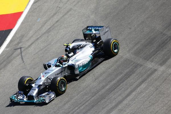 F1 2014 HOCKENHEIM - La MERCEDES de Nico ROSBERG