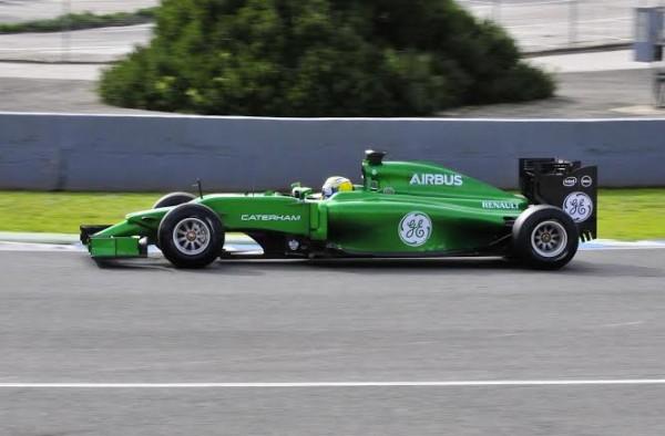 F1-2014-JEREZ-essai-28-Janvier-CATERHAM-RENAULT-de-Marcus-ERICSSON-Photo-Max-MALKA