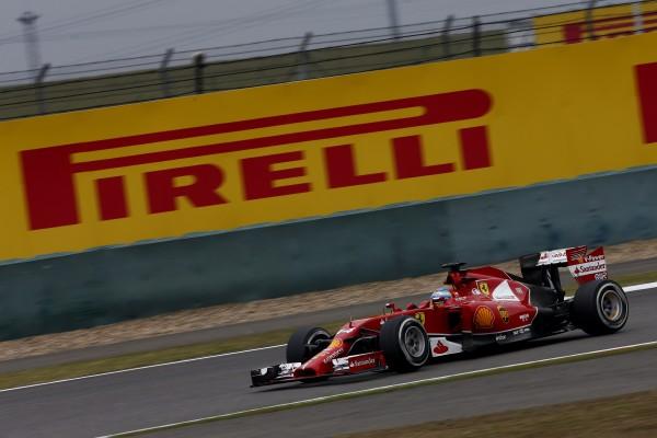 F1 2014 SHANGHAI FERRARI ALONSO photo PIRELLI.