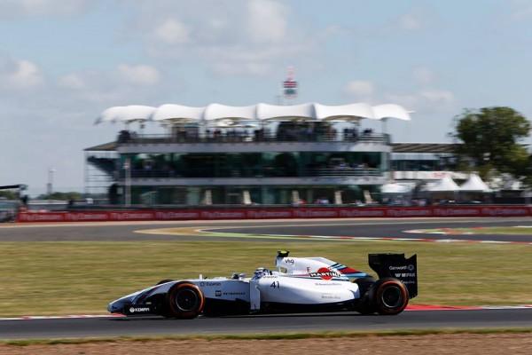 F1-2014-SILVERSTONE-WILLIAMS-N°41 avec Susie WOLFF