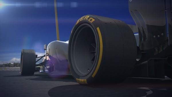F1 2014 le futur pneu PIRELLI 18 pouces