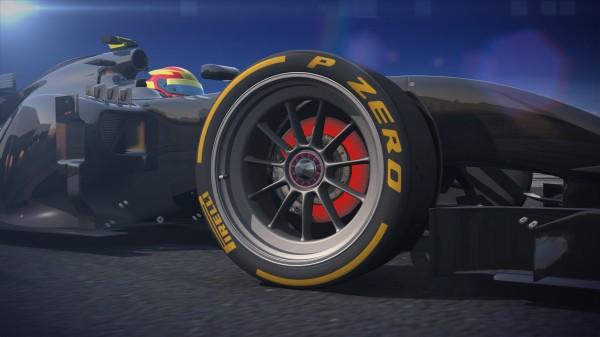 F1 2014 le futur pneu PIRELLI de 18 pouces