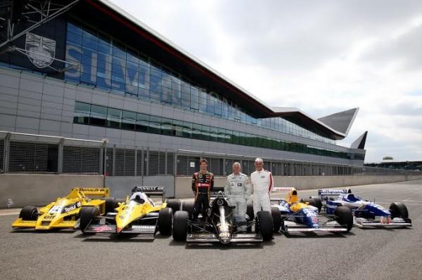 F1 A Silverstone les monoplaces d antan avec le moteur Renault Turbo