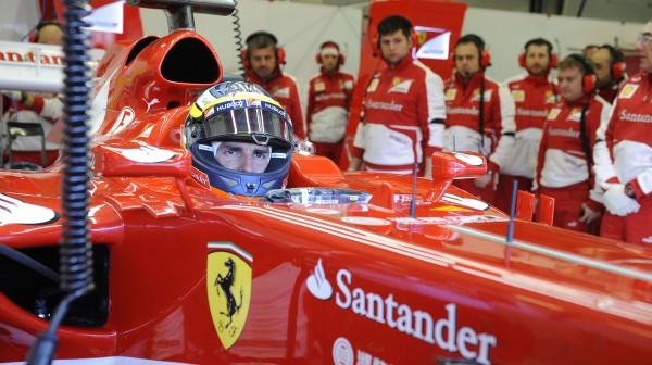 F1 FERRARI Test avec Pedro de la ROSA
