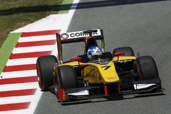 GP2-2014-BARCELONE-JOLYON-PALMER-Equipe-DAMS