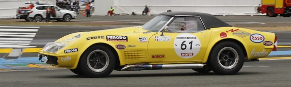 LE MANS CLASSIC 2014 -CHEVROLET CORVETTE de 1970 photo Thierry COULIBALY.