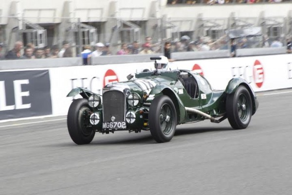 LE MANS CLASSIC 2014 - LAGONDA de 1939 photo Thierry COULIBALY.