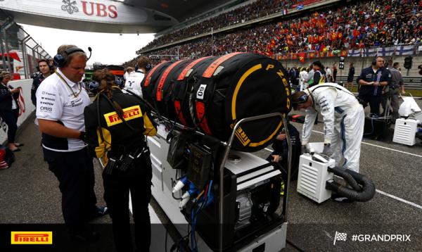 PIRELLI 2014  les pneumatiques arrivent en pre grille