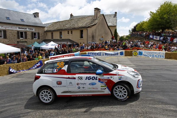 RALLYE DU ROUERGUE 2014 YOHAN ROSSEL CITROEN JUNIOR.