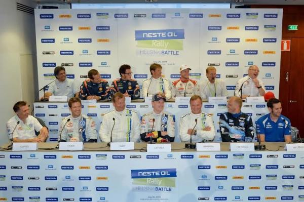 WRC 2014 HELSINKI - La photo de famille