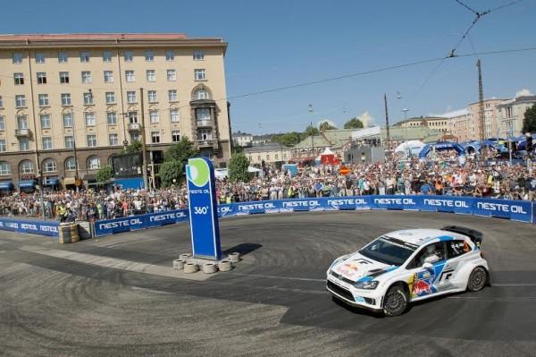 WRC 2014 HELSINKI Marku ALLEN en finale face a OSTBERG