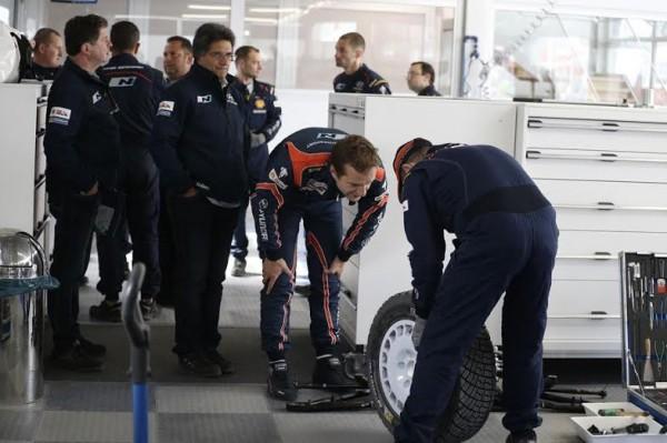 WRC 2014 POLOGNE - Juho Hanninen Team HYUNDAI i20WRC