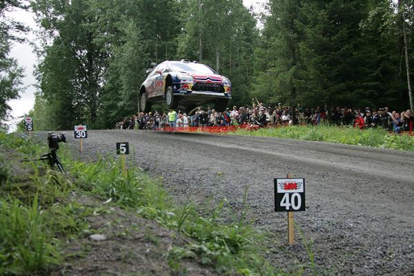 WRC-Finlande-Citroen-Seb LOEB en 2012