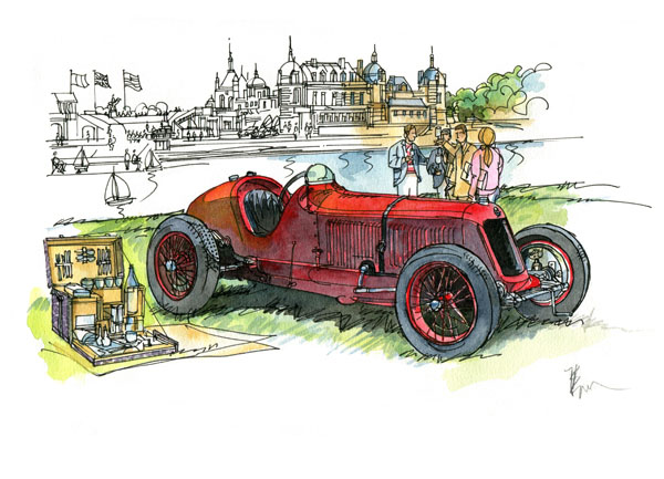CONCOURS ELEGANCE CHANTILLY 2014 -Copyright Bouldouyre