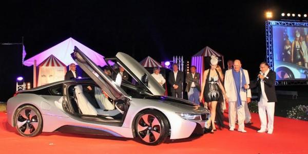 CONCOURS ELEGANCE LA BAULE 14 Août 2014-Triomphe en Supercar pour la superbe BMW I8-Photo Emmanuel Leroux.j