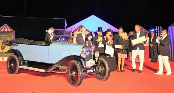 CONCOURS ELEGANCE LA BAULE 2014 -La CITROEN B2 de 1926 remporte la catégorie Veteran - Photo Emmanuel LEROUX