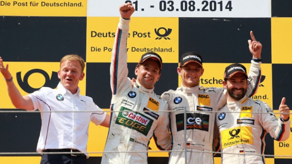 DTM-2014-RED-BULL-RING-TRIPLE-des-pilotes-BMW