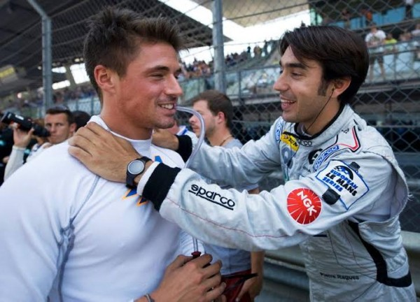ELMS-2014-RED-BULL-RING-Pierre-RAGUES-venu-feliciter-dson-pote-Nelson-PANCIATICI-Photo-Eric-REGOUBY