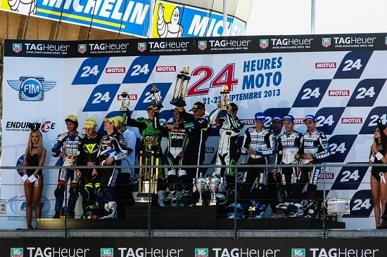 ENDURANCE-MOTO-2014-24-Heures-du-MANS-Le-podium-2013.