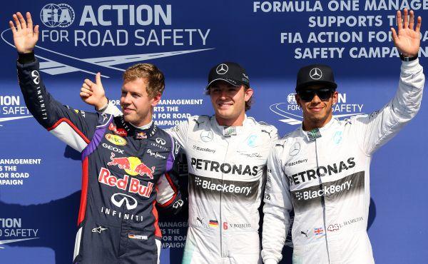 F1-2014-SPA-Les-3-Premiers-ROSBERG-HAMILTON-et-VETTEL-aux-essais.