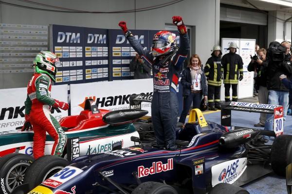 F3 2014 NURBURGRING - Victoire de Max VERSTAPPEN devant FUOCO dans la 1ére course le 16 août.