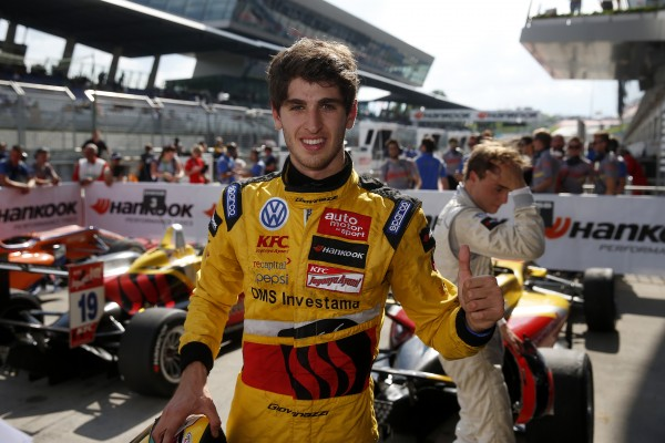 F3 2014 - RED BULL RING -Antonio Giovinazzi 1er de la 3éme course