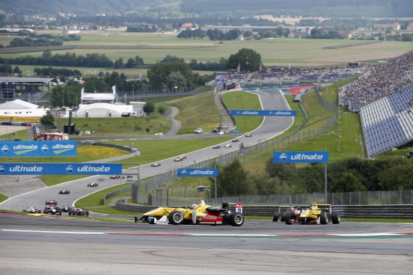F3 2014 RED BULL RING - Antonio Giovinazzi devance Tom BLOMQVIST
