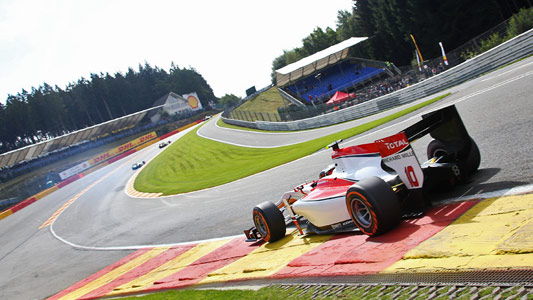 GP2 2014 SPA VANDOORNE EN POLE
