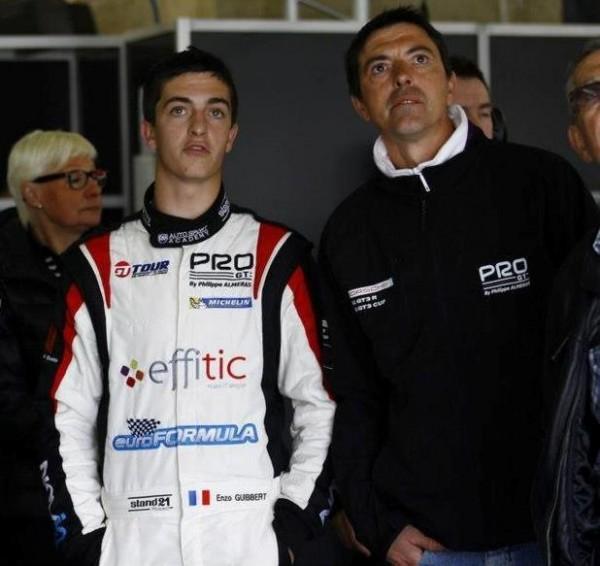 GT-TOUR-2013-Enzo-Guibbert-pilote-Euroformula-Stand-PRO-GT-ALMERAS-Porsche-Ledenon