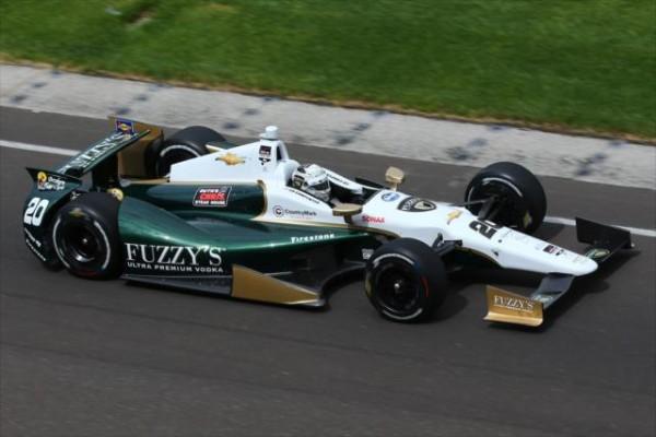 INDYCAR-2014-Indianapolis-La-DALLARA-DW12-de-Ed-CARPENTER.