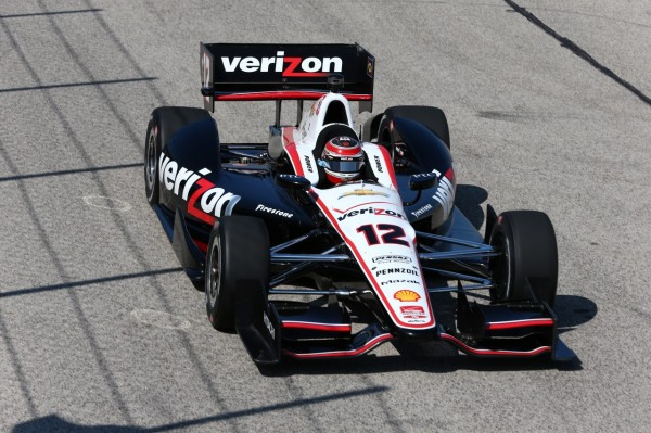 INDYCAR 2014 - MILWAUKEE - La DALLARA DW12 CHEVY du vainqueur Will POWER