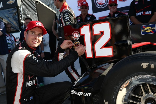 INDYCAR 2014 - SONOMA - WILL POWER en pole a SONOM