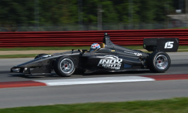 INDYLIGHT 2014 - Nouvelle monoplace DALLARA IL 15 en test a MID OHIO.