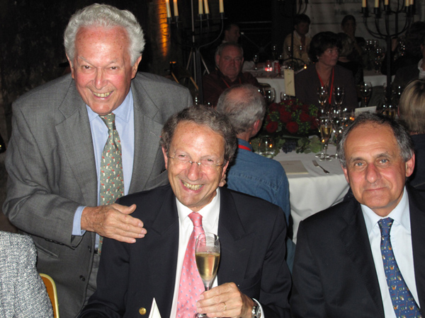 MOET Soiree Bugatti Bernard CONSTEN Jean BERCHON et Franz HUMMELL.