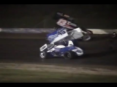 NASCAR-SPRINT-CUP-Accrochage-entre-STEWART-et-WARD-Junior A