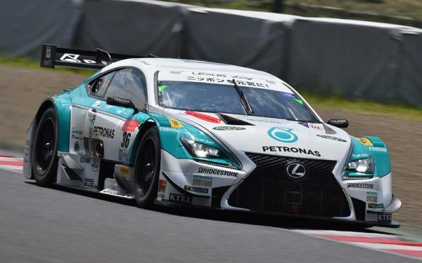 SUPER GT 2014 - 1000 KM DE SUZUKA - la LEXUS TOMS en pole