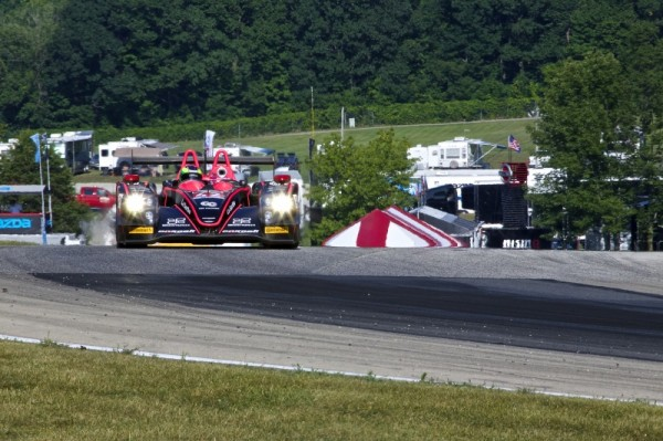 TUDOR USCC 2014 ELKHART LAKE MORGAN Du Team OAK Racing.