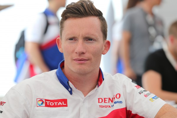 WEC 2014 - Mike CONWAY avec TOYOTA