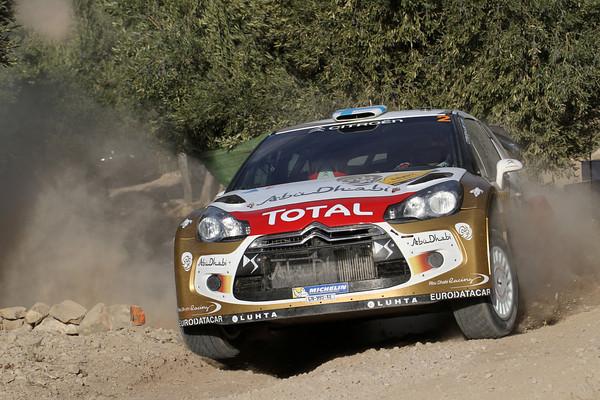 WRC 2013 CATALOGNE DS3 de Mikko HIRVONEN