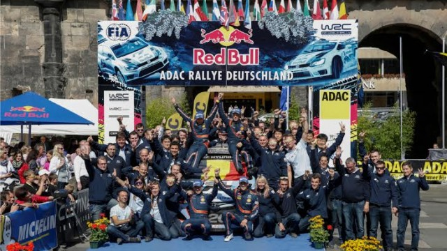 WRC 2014 -ALLEMAGNE - 1er TRIOMPHE  pour Thierry NEUVILLE et le Team HYUNDAI  en WRC