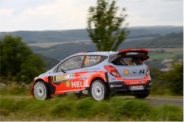 WRC-2014-ALLEMAGNE-Belle-seconde-place-pour-Dani-SORDO-qui-complete-le-triomphe-du-Team-HYUNDAI