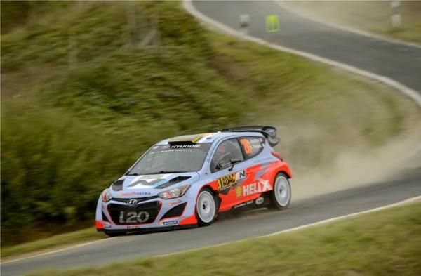 WRC 2014 -ALLEMAGNE - Bryan BOUFFIER -Team HYUNDAI.