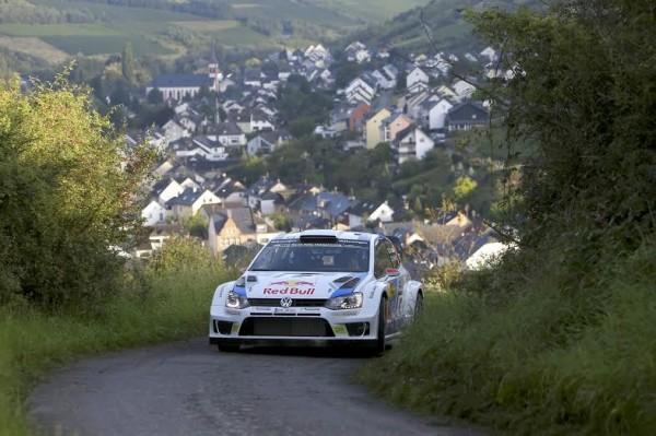 WRC 2014 ALLEMAGNE - La VW Polo de Jari Matti LATVALA
